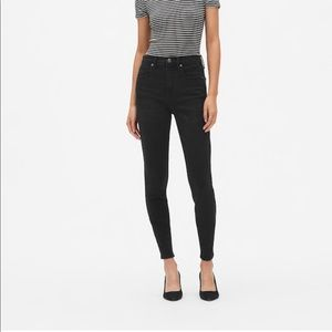 GAP High Rise True Skinny Jeans Size 31